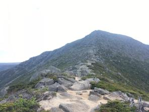 The approach to the Tablelands on Mt. Katahdin