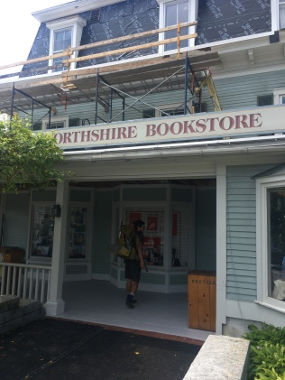 Northshire Bookstore in Manchester Center, VT. We took an unintentional almost-zero day here, mostly because of this store. It's a great one.