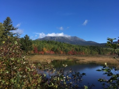 Katahdin from the entrance to Baxter State Park