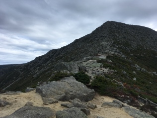 Hunt Spur, Katahdin. Just before the Tablelands. This section is rough, but the views were miraculous.